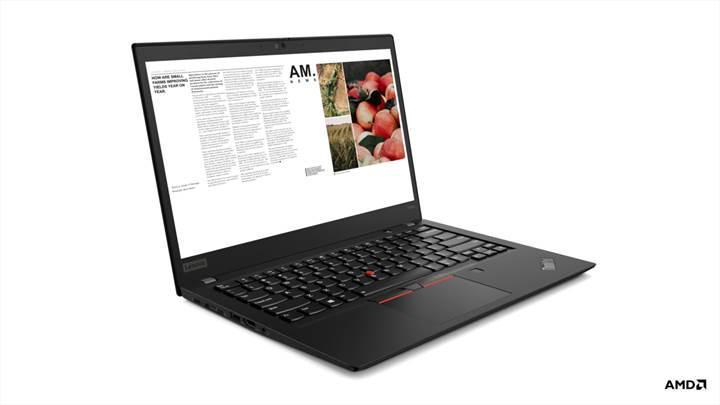 Lenovo ThinkPad ailesine AMD Ryzen Pro'lu modeller eklendi
