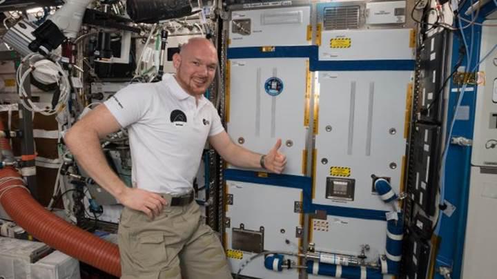 """""""Yosun bazlı biyoreaktör"""", ISS'de oksijen ve yiyecek üretecek"""