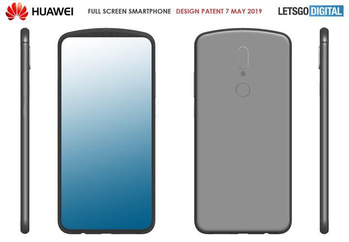 Huawei, çentiksiz ekran tasarımı için farklı çözümler üretiyor
