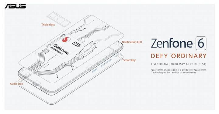 Asus Zenfone 6 detaylanıyor