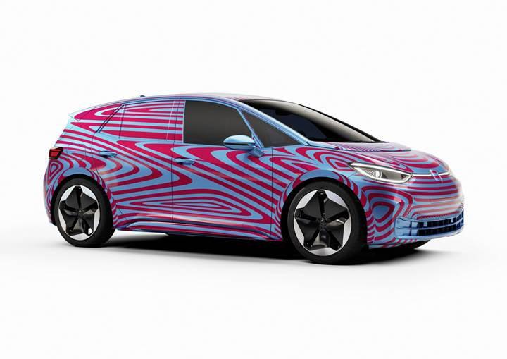 Elektrikli Volkswagen ID.3, ilk günden 10 binin üzerinde ön sipariş aldı