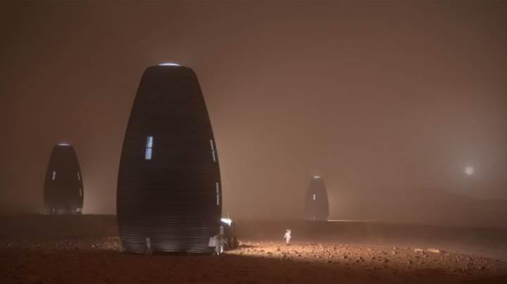 NASA, Mars'ta yaşam alanı oluşturma yarışmasının galibini açıkladı