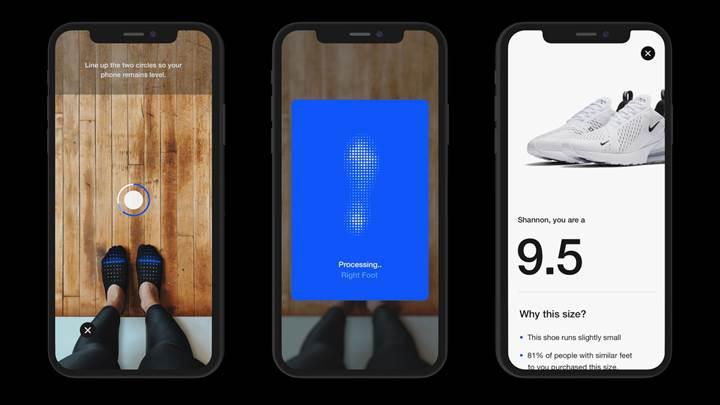 Nike Fit uygulaması ayakkabı numaranızı tahmin edebiliyor