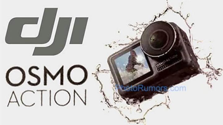 DJI OSMO Action detaylanıyor