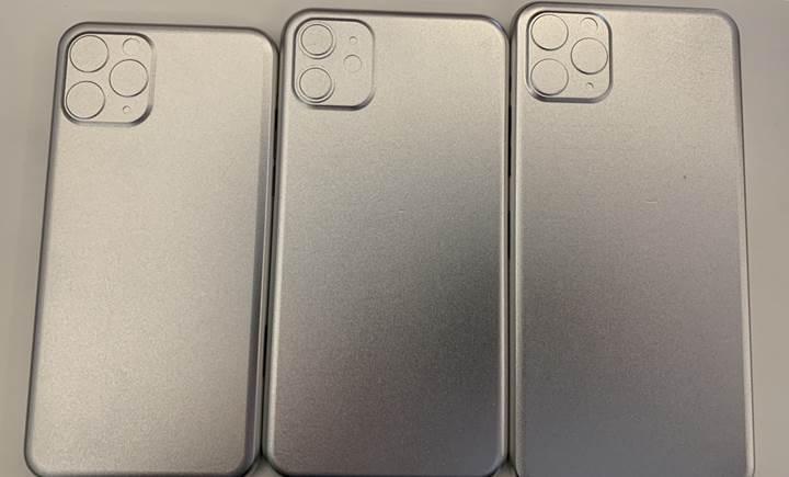 2019 iPhone modellerinin arka tasarımını ortaya koyan kalıp fotoğrafları yayınlandı