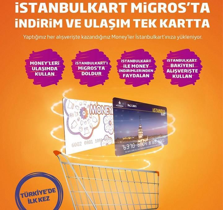 Türkiye'de ilk kez İstanbulkart ve Money kart entegrasyonu sağlandı