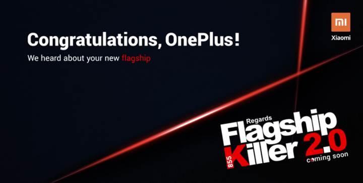 Xiaomi'den OnePlus'a tebrik geldi: Amiral gemisi kâtili 2.0 ise yolda
