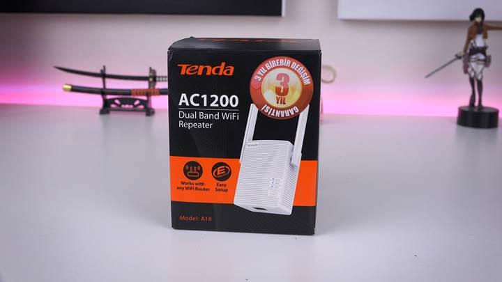 Evde ağı genişletin 'Tenda A18 incelemesi'