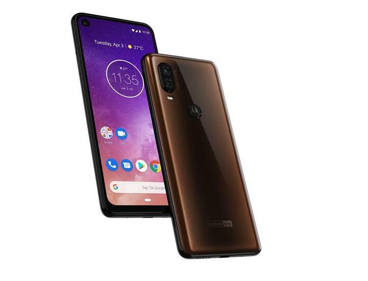 Delik tasarımlı Motorola One Vision tanıtıldı