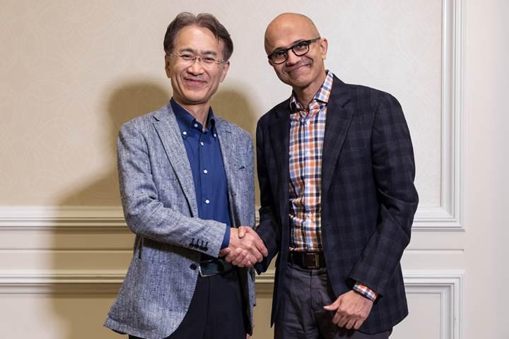 Microsoft ve Sony, bulut oyunculuğu ve yapay zeka için güçlerini birleştirdi