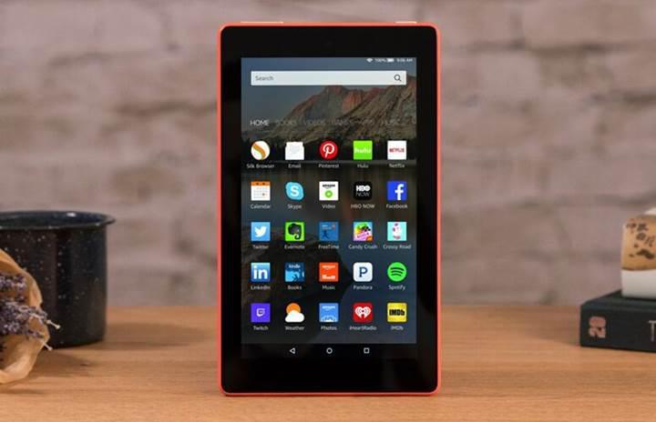 Amazon yeni Fire 7 tabletinin özelliklerini iyileştirdi ancak fiyatını yükseltmedi
