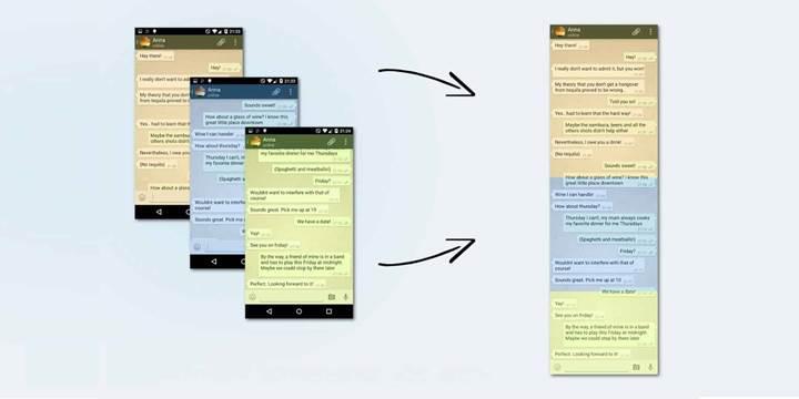 Sayfa boyu ekran görüntüsü alma Android R ile gelecek