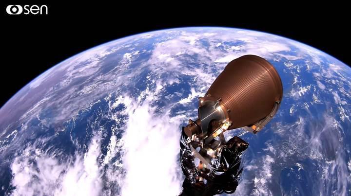 İngiliz şirket uzaya 4K kamera gönderdi: İşte büyüleyici Dünya görüntüleri
