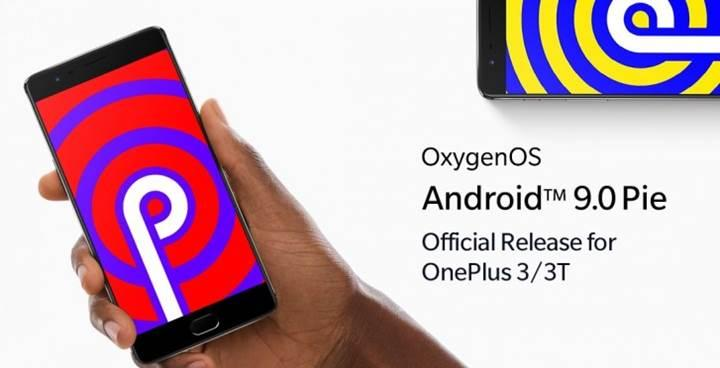 OnePlus 3 ve 3T, Android Pie güncellemesi aldı