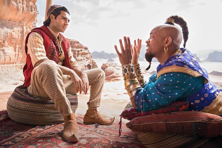 Aladdin, gişedeki ilk haftasında rakip tanımadı