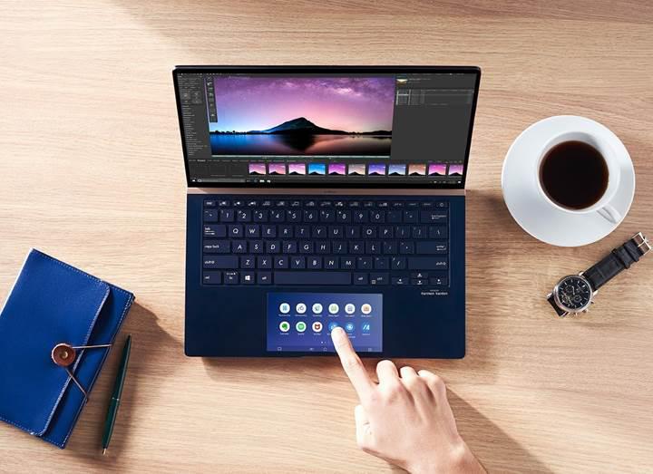 Asus trackpad modülünü daha yenilikçi hale getiriyor