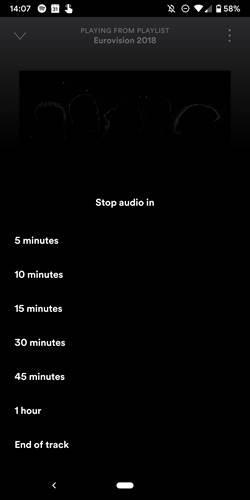 Spotify'ın Android versiyonuna uyku zamanlama özelliği geldi