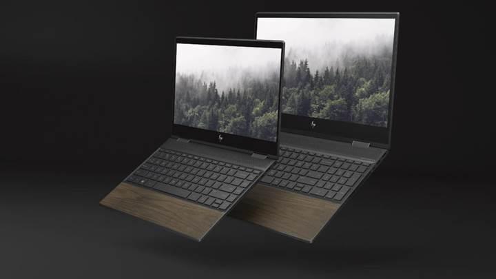 HP'nin yeni dizüstü bilgisayarları, ahşap kaplama seçeneğiyle geliyor