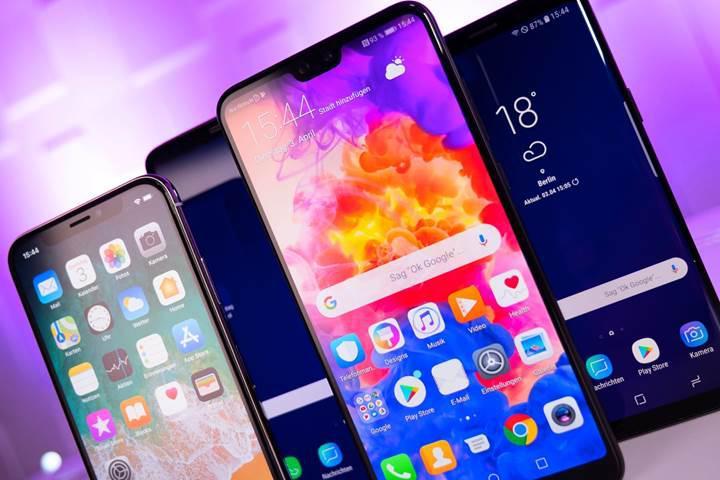 Global akıllı telefon satışları ilk çeyrekte düştü: Samsung lider, Huawei ikinci