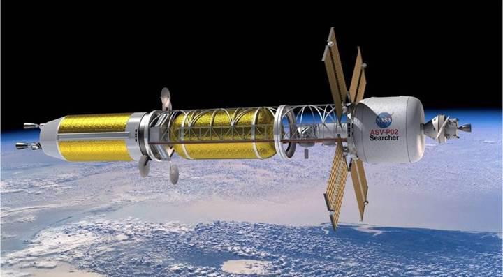 NASA'dan 'nükleer roket' çalışmalarına 125 milyon dolar yatırım