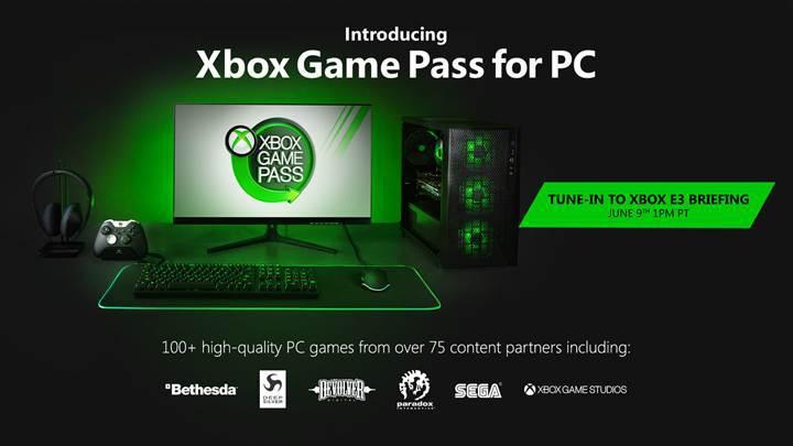 Xbox Game Pass resmen PC için duyuruldu
