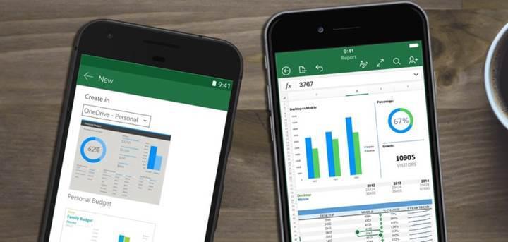 Excel'in iOS sürümüne resimden veri ekleme özelliği geldi