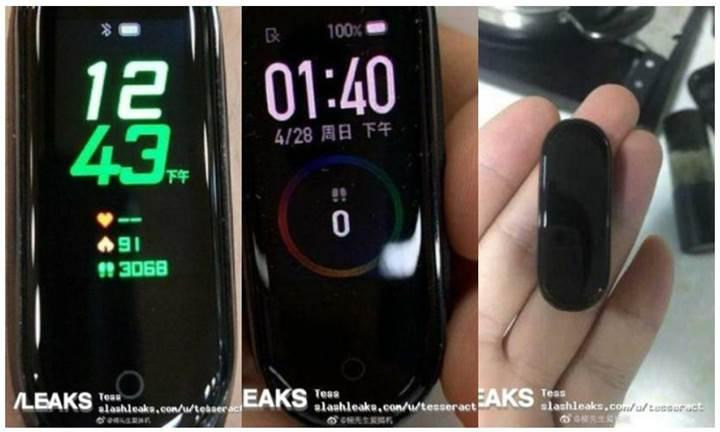 Merakla beklenen Xiaomi Mi Band 4'ün yeni görüntüleri ortaya çıktı