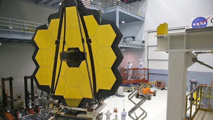 James Webb Uzay Teleskobu, önemli bir testi daha başarıyla tamamladı