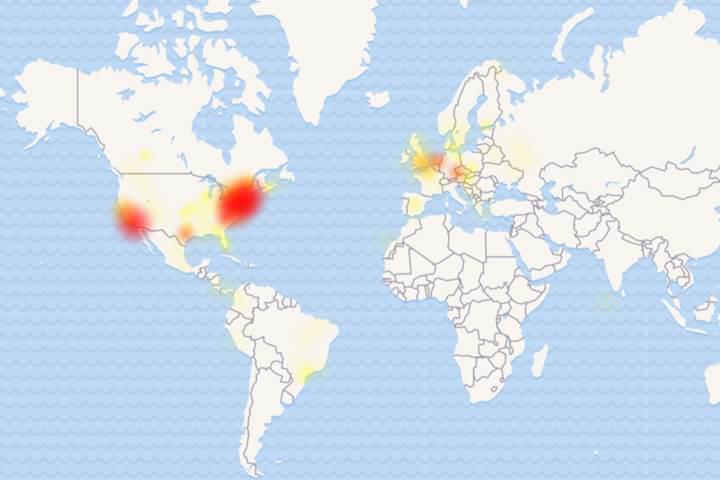 Google hizmetlerinde kesinti yaşanıyor