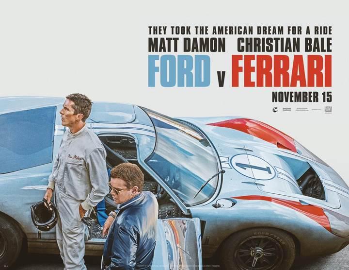 Ford v. Ferrari filminin merakla beklenen ilk fragmanı yayınlandı
