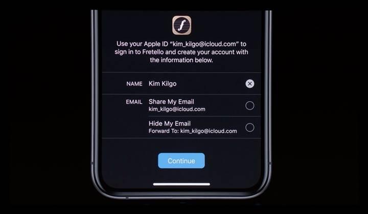 Apple evrensel güvenli giriş özelliğini duyurdu
