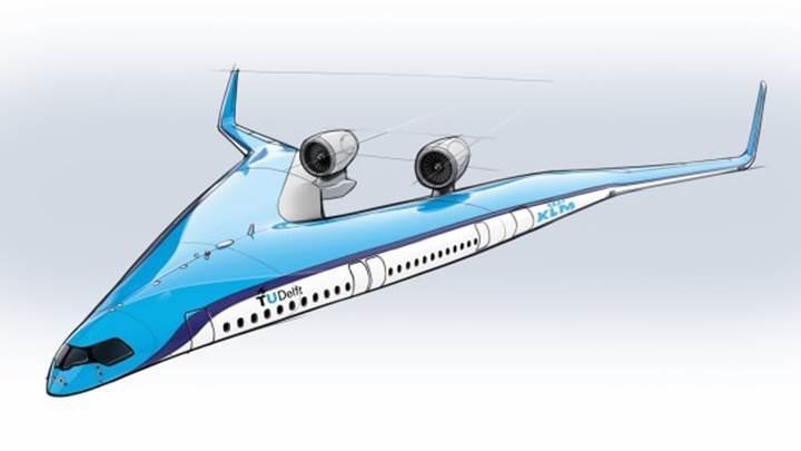 Hollanda V biçiminde uçak tasarlıyor