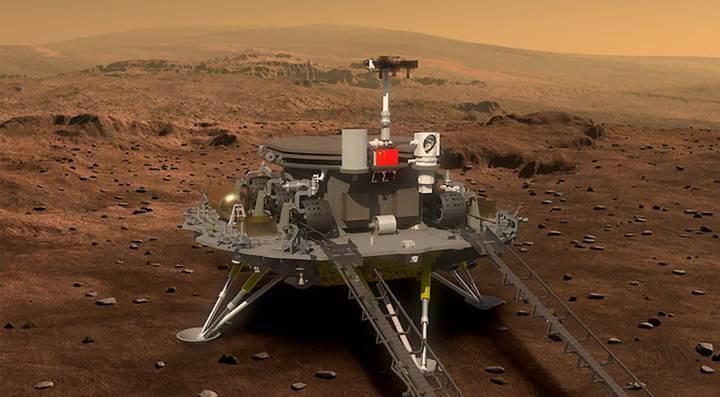 Çin, Mars'a uzay aracı indirebilen ikinci ülke olmaya çok yakın |  DonanımHaber