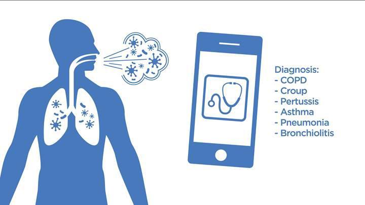 Yeni uygulama öksürük ile hastalıkları teşhis ediyor