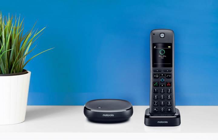 Motorola'dan Alexa uyumlu sabit telefon