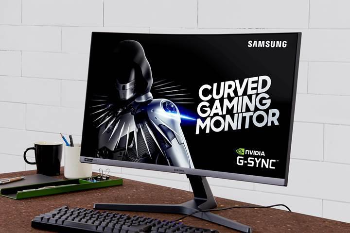 Samsung CRG5 kavisli ve G-Sync destekli 1080p oyuncu monitörü tanıtıldı