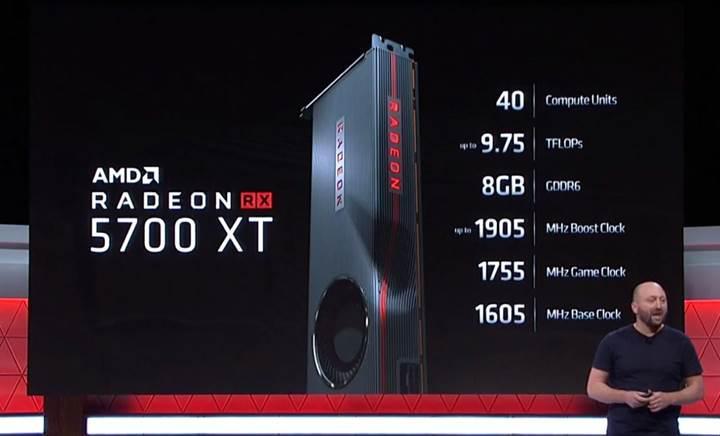 AMD Radeon RX 5700 XT duyuruldu. İşte özellikleri ve fiyatı!
