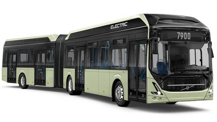 Volvo, yeni elektrikli otobüsünü görücüye çıkardı