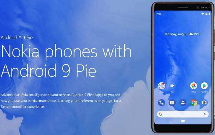 Android Pie güncellemesi alan Nokia telefonlar