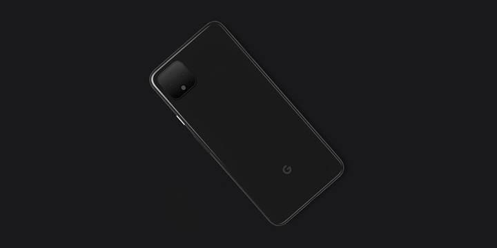 Google tarafından paylaşılan Pixel 4 görseli karşınızda