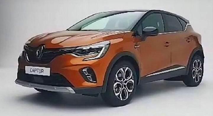 Yeni Renault Captur'un tasarımı sızdırıldı