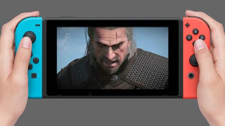 Nintendo Switch'e The Witcher 3 geliyor