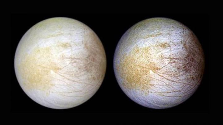 """Jupiter'in uydusu Europa'nın yüzeyinde bol miktarda """"sofra tuzu"""" tespit edildi"""