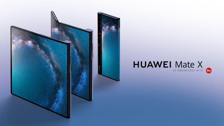 Katlanabilir Huawei Mate X'in çıkış tarihi Eylül ayına ertelendi