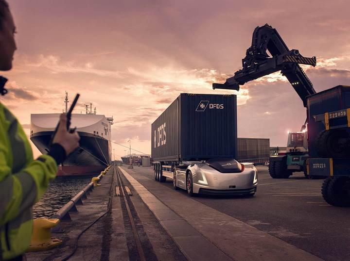 Volvo'nun elektrikli ve otonom çekicisi İsveç'te göreve başladı