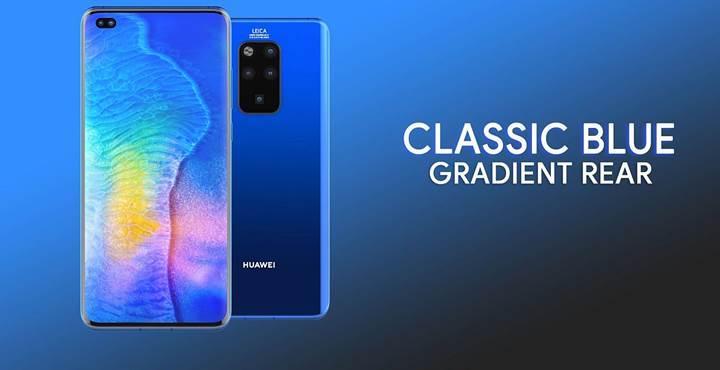 Huawei Mate 30 Pro'nun tasarımını açığa çıkaran görseller yayınlandı