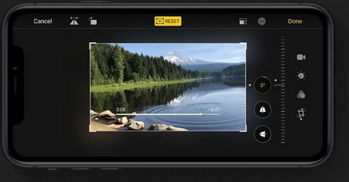 iOS 13, kullanıcıların videolarını düzenlemelerine imkan verecek