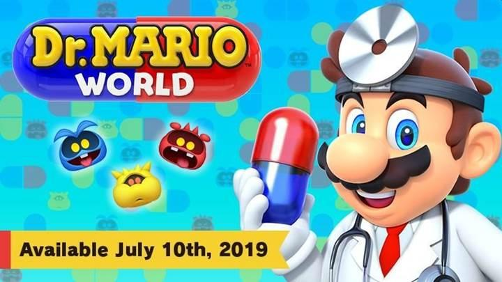 Dr. Mario World 10 Temmuz'da mobil platformlara geliyor