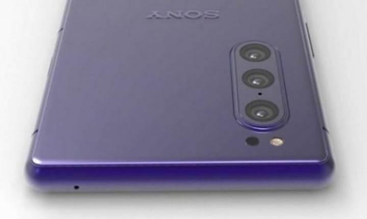 Sony'nin yeni üç kameralı telefonunun görüntüsü sızdı