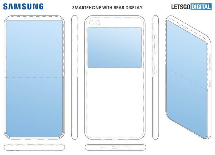 Samsung, çift ekranlı akıllı telefon modeli üzerinde çalışıyor